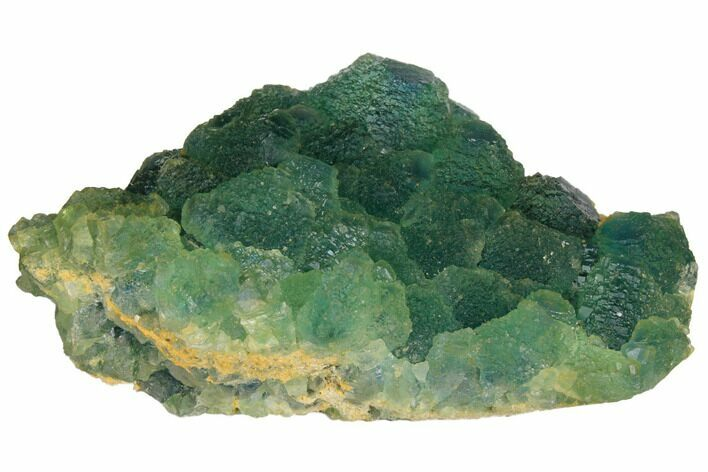 "3.5"" Stepped Blue-Green Fluorite Crystal Cluster - China"