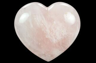 "4.8"" Polished Rose Quartz Heart - Madagascar For Sale, #129038"
