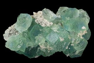 "Buy 3"" Stepped Blue-Green Fluorite Crystal Cluster - China - #128923"