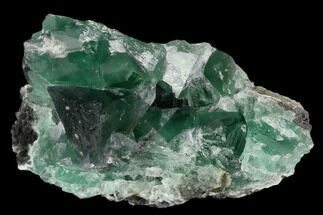 "Buy 3.1"" Green Fluorite Crystal Cluster - Fluorescent! - #128935"