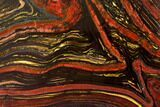 "11.9"" Polished Tiger Iron Stromatolite - 3.02 Billion Years - #129464-1"