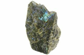 "Buy 5.8"" Tall, Single Side Polished Labradorite - Madagascar - #126454"