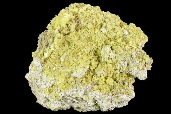 "3.35"" Sulfur Crystal Cluster - Steamboat Springs, Nevada"