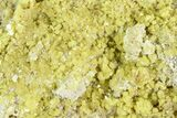 "3.35"" Sulfur Crystal Cluster - Steamboat Springs, Nevada - #129751-2"