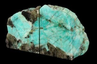 Microcline var. Amazonite & Quartz var. Smoky - Fossils For Sale - #129858