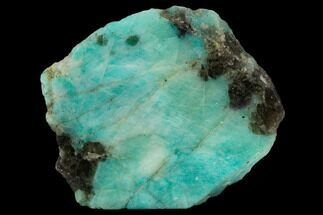 "4.3"" Wide, Polished Amazonite Section - Madagascar For Sale, #129905"