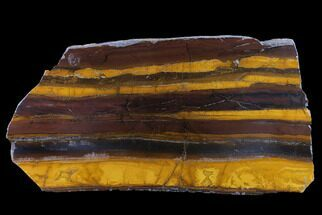 "12.8"" Polished ""Desert Sunset"" Banded Iron - Western Australia For Sale, #131162"
