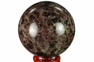 "Buy 2.3"" Polished Garnetite Sphere - Madagascar - #132121"