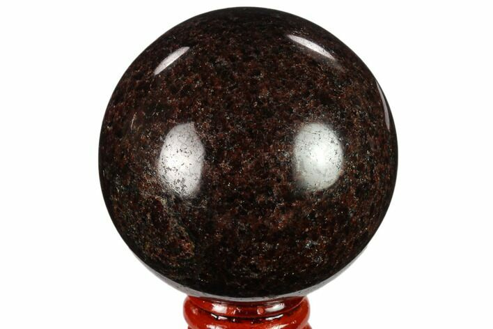 "2.6"" Polished Garnetite Sphere - Madagascar"