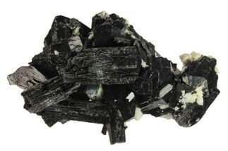 "2.2"" Black Tourmaline (Schorl) Crystals with Orthoclase - Namibia For Sale, #132209"
