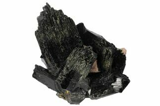 "Buy 1.8"" Black Tourmaline (Schorl) Crystals with Orthoclase - Namibia - #132196"
