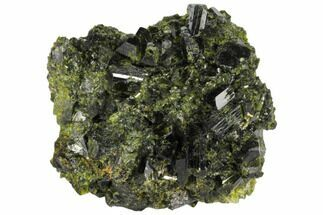 "1.7"" Epidote Crystal Cluster - Peru For Sale, #132626"