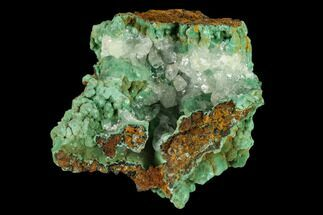 "Buy 2.6"" Malachite and Calcite Association - Zacatecas, Mexico - #132727"