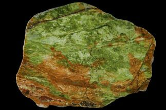 "Buy 7.2"" Polished Chrome Opal Slab - Western Australia - #132958"