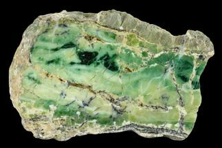 "4.4"" Polished Green-White Opal Slab - Western Australia For Sale, #132926"