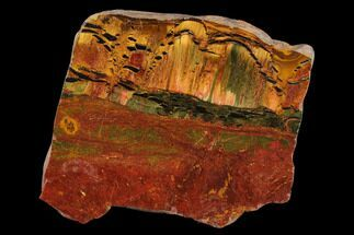 "Buy 3"" Marra Mamba Tiger's Eye Slab - Mt. Brockman (2.7 Billion Years) - #133060"