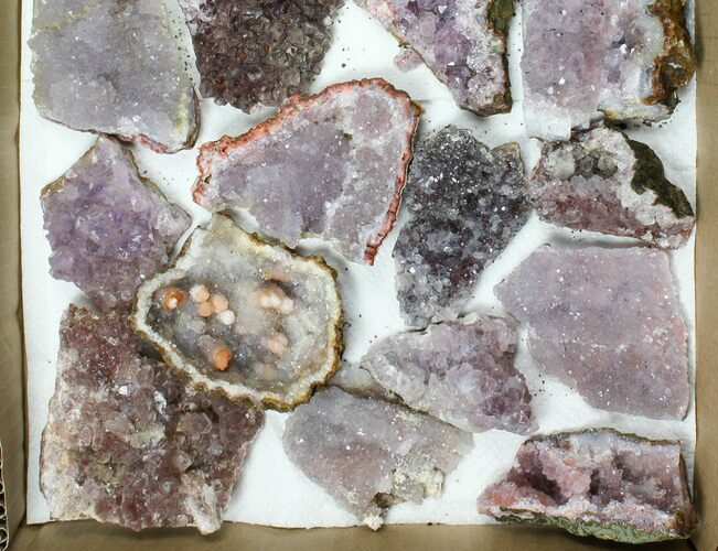 Wholesale Lot - Morocco Amethyst Clusters - 25 Pieces
