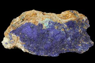 "Buy 7.1"" Druzy Azurite Crystals on Matrix - Morocco - #133705"