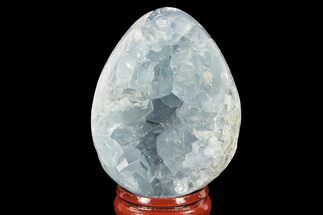 "2.2"" Crystal Filled, Celestine (Celestite) ""Egg"" - Madagascar For Sale, #134618"