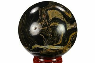 "Buy 2.2"" Polished Stromatolite (Greysonia) Sphere - Bolivia - #134734"