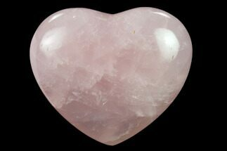 "Buy 2.7"" Polished Rose Quartz Heart - Madagascar - #134809"