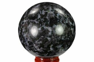 "Buy 2.6"" Polished, Indigo Gabbro Sphere - Madagascar - #135787"