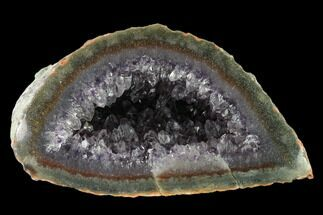 "Buy 6"" Wide, Purple Amethyst Geode - Uruguay - #135349"