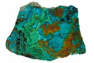 Chrysocolla & Malachite - Fossils For Sale - #136110