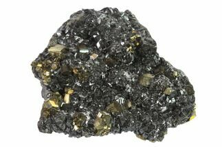 "Buy 2.8"" Pyrite, Sphalerite & Quartz Crystal Association - Peru - #136213"