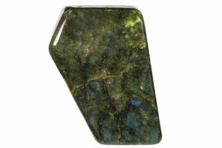 "6.8"" Flashy Polished Labradorite Free Form - Madagascar"