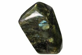 "5.1"" Flashy Polished Labradorite Free Form - Madagascar For Sale, #136259"