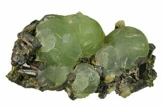 Prehnite & Epidote - Fossils For Sale - #137124