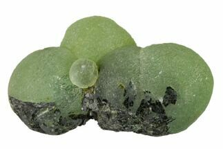 "1.85"" Botryoidal Prehnite and Epidote Association - Mali, Africa For Sale, #137312"