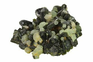 Prehnite & Epidote - Fossils For Sale - #137313