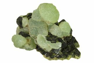 "Buy 1.8"" Botryoidal Prehnite and Epidote Association - Mali, Africa - #137518"