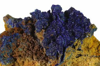 "2.5"" Druzy Azurite Crystals on Matrix - Morocco For Sale, #137423"