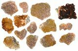 Wholesale Lot - Pink and Orange Bladed Barite - 27 Pieces - Morocco - #138054-2