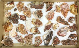 Barite & Vanadinite  - Fossils For Sale - #138114