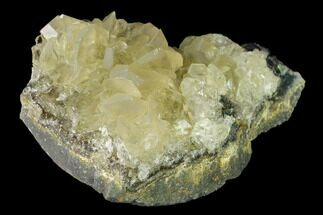 "Buy 3.4"" Calcite Crystal Cluster with Green Fluorite - China - #138700"