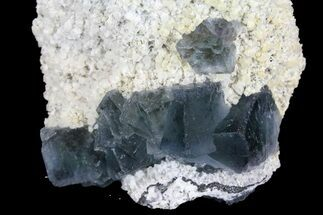 "2.5"" Cubic Green Fluorite Crystals on Quartz - China For Sale, #138710"