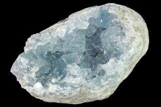 "4"" Sky Blue Celestine (Celestite) Crystal Cluster - Madagascar For Sale, #139424"