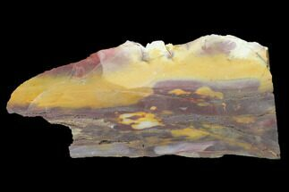 "7"" Mookaite Jasper Slab (Not Polished) - Australia For Sale, #141563"