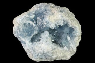 "4.1"" Sky Blue Celestine (Celestite) Crystal Cluster - Madagascar For Sale, #139442"