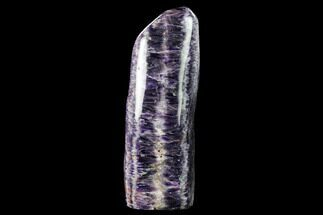 "9.7"" Tall, Polished Chevron Amethyst Freeform - Morocco For Sale, #142745"