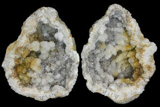 "9.7"" Keokuk Quartz Geode - Iowa For Sale, #144794"