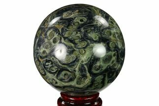 "Buy 3.2"" Polished Kambaba Jasper Sphere - Madagascar - #146059"