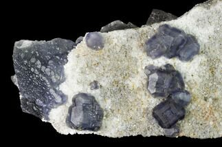 Fluorite & Quartz - Fossils For Sale - #146664