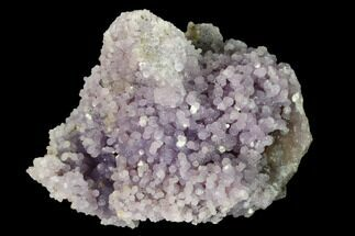 "2.2"" Purple, Sparkly Botryoidal Grape Agate - Indonesia For Sale, #146792"