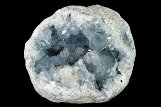 "6.7"" Sky Blue Celestine (Celestite) Geode - Madagascar For Sale, #152303"