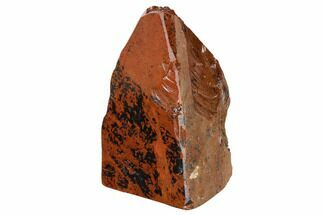 "Buy 4.7"" Polished Mahogany Obsidian Section - Mexico - #153592"